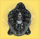 Buddha Arc Maszk ezüst 20cm