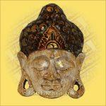 Buddha Arc Maszk fehér 20cm