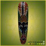Maszk Aboriginal Festéssel M