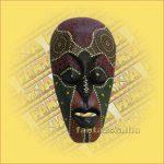 Maszk Aboriginal Festéssel mini  D