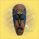 Maszk Aboriginal Festéssel kicsi  A