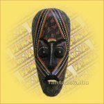 Maszk Aboriginal Festéssel közepes  A