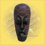 Maszk Aboriginal Festéssel közepes  B