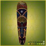 Maszk Aboriginal Festéssel F
