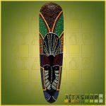 Maszk Aboriginal Festéssel H