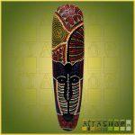 Maszk Aboriginal Festéssel K