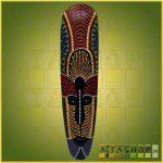 Maszk Aboriginal Festéssel 0,5m C