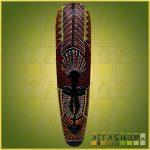 Maszk Aboriginal Festéssel 0,5m E
