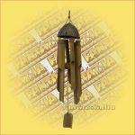 Szélkolomp Bambuszból Kicsi 9x30cm