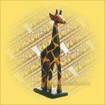 Zsiráf Trópusi Fából 40cm