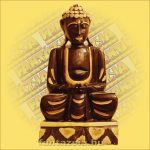 Buddha Szobor Ülő 40cm