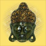 Buddha Arc Maszk zöld 20cm