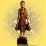 Buddha Szobor Álló 110cm A