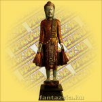 Buddha Szobor Álló 110cm B