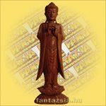 Buddha Szobor Álló 100cm
