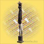 Maori-Asmat szobor faragott,100 cm