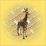 Zsiráf Bőrállat kicsi