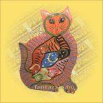 Trópusi Fa Puzzle mix macska
