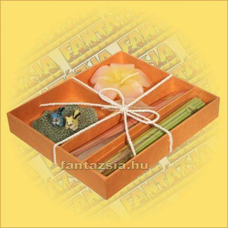 Füstölő szett dobozos,Thai D