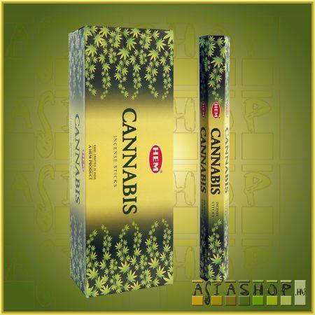 HEM Cannabis/HEM Vadkender illatú indiai füstölő