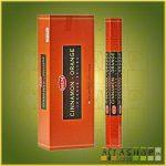 HEM Cinnamon Orange/HEM Fahéj és Narancs illatú indiai füstölő