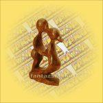 Absztrakt Sono Fa Figura 10 cm Q
