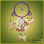 Álomcsapda (álomfogó) lila 16 cm