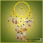 Álomcsapda (álomfogó) sárga 16cm