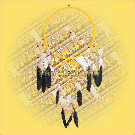 Álomcsapda (álomfogó) sárga 32cm