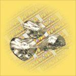 Szivárványkristály (Feng Shui) Szív 40mm