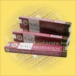 Meditáció /Golden Nag Meditation/ Vijayshree masala füstölő