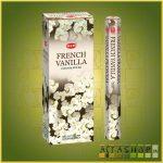 HEM French Vanilla/HEM Francia Vanília illatú indiai füstölő