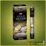 HEM Gold and Silver/HEM Arany és Ezüst indiai füstölő