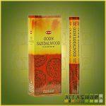 HEM Oodh Sandalwood/HEM Agarfa Szantál illatú indiai füstölő