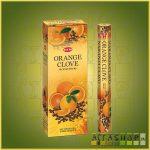 HEM Orange Clove/HEM Narancs Szegfűszeg illatú indiai füstölő