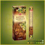 HEM Sandal Vanilla/HEM Szantál Vanília illatú indiai füstölő