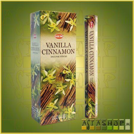 HEM Vanilla Cinnamon/HEM Vanília Fahéj illatú indiai füstölő