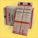 Sáfrány masala füstölő / Goloka Saffron