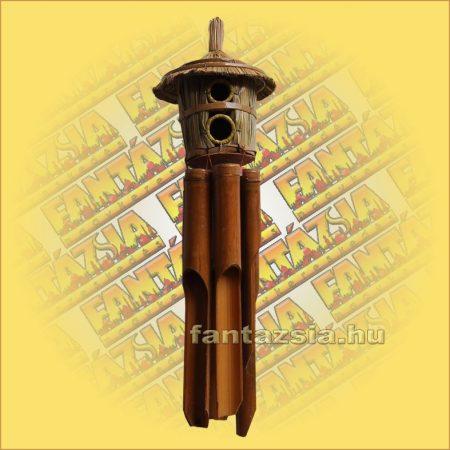 Szélkolomp Bambuszból Madárházzal