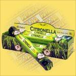 Tulasi Citronella (szúnyogriasztó) füstölő/Tulasi Citronella