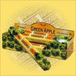 Tulasi Zöld Alma illatú füstölő /Tulasi Green Apple