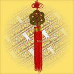 Feng Shui Szerencsehozó Pénzfüzér hatszög, nagy