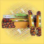 Tulasi Kurkuma illatú füstölő/Tulasi Turmelic
