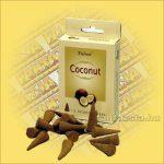Kúpfüstölő Kókusz / Tulasi Coconut Füstölő Kúp