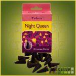 Kúpfüstölő Éjszaka Királynője / Tulasi Night Queen Füstölő Kúp