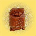 Bagoly Figura Sono fából