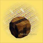 Trópusi Fa Logikai Játék - tömör kocka 018 6x6cm