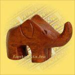 Elefánt Figura Sono fából