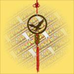 Feng Shui Szerencsehozó Függő Sas szimbólummal
