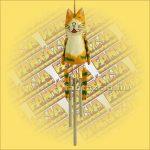 Szélcsengő - Narancssárga Macska